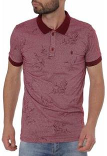 Camisa Polo Haskler Masculina - Masculino-Bordô