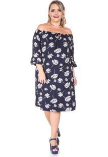 Vestido Gerbera Plus Size