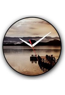 Relógio De Parede Colours Creative Photo Decor Decorativo, Criativo E Diferente - Pier Em Angra Dos Reis, Rj