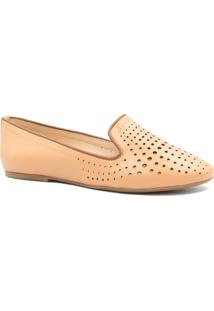 Sapatilha Zariff Shoes Slipper Vazado Nude