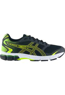 Tênis Asics Gel Connection Masculino - Masculino-Chumbo+Verde