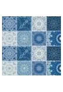 Adesivo De Azulejo - Ladrilho Hidráulico - 346Azpe