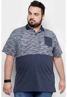 Camisa Polo Hd Plus Size Especial Masculina - Masculino