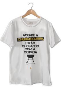 Camiseta Acende A Churrasqueira