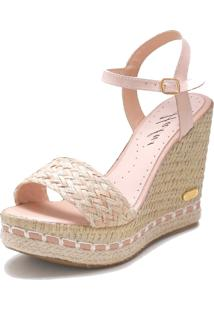 Sandália Sb Shoes Anabela Ref.3227 - Kanui