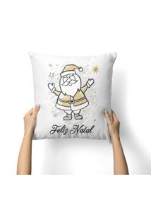 Capa De Almofada Love Decor Avulsa Decorativa Feliz Natal Color
