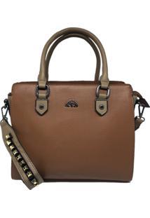 Bolsa Feminina Importada Casual Sys Fashion 8526 Marrom