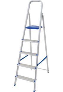 Escada Mor AlumãNio 5 Degraus - 005103