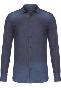 Camisa Masculina Jeans Neymar - Azul