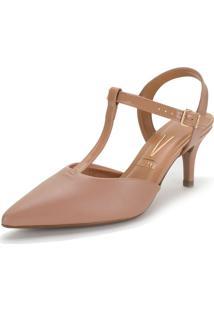 Sapato Feminino Chanel Vizzano - 1185782 Salmão 34
