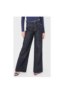 Calça Jeans Dimy Pantalona Kate Azul
