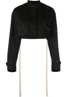 Givenchy Jaqueta Cropped - Preto