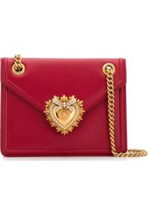 Dolce & Gabbana Bolsa Tiracolo Devotion Média - Vermelho