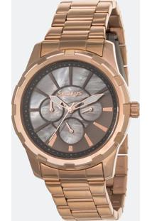 Relógio Feminino Seculus 35003Lpsvrs3 Analógico 5Atm