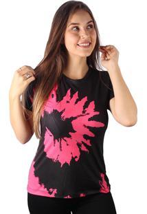 Camiseta Baby Look Espiral Tie Dye Md23