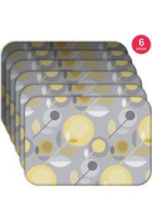 Jogo Americano - Love Decor Basic Element Kit Com 6 Peças - Kanui
