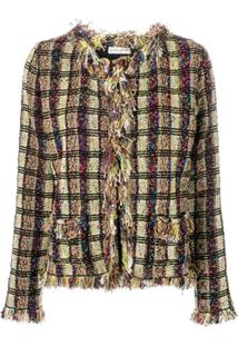 Etro Tweed-Knit Cardigan - Verde