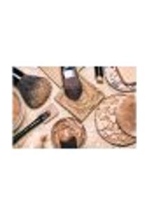 Painel Adesivo De Parede - Salão De Beleza - Maquiagem - 822Pnp