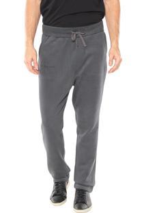 Calça Calvin Klein Jeans Moletom Cinza