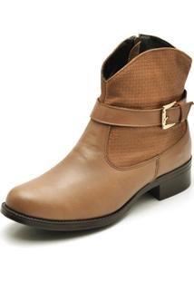 Bota Country Montaria Feminina Top Franca Shoes Caramelo