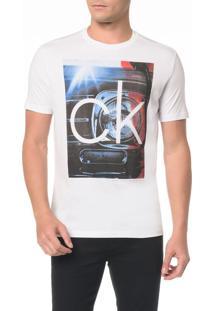Camiseta Regular Com Estampa Farol - P