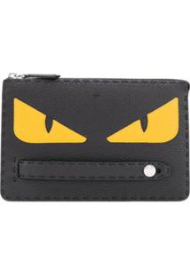 Fendi Porta-Documentos Bag Bugs - Preto