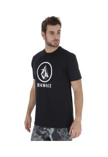 Camiseta Volcom Crisp Hi - Masculina - Preto