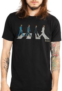 Camiseta Bandup - Bandas The Beatles Abbey Road