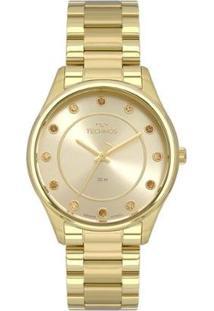 Relógio Technos Trend Dourado 2036Mli/4X Feminino - Feminino-Dourado
