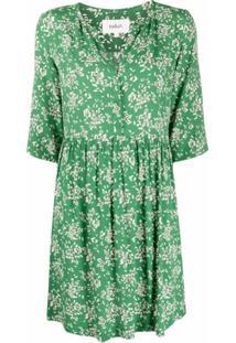 Ba&Sh Vestido Vlada Com Estampa Floral - Verde