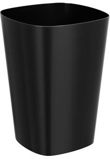 Lixeira- Preta- 5L- Cozacoza
