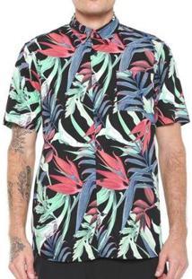 Camisa Hurley Jungle Trip - Masculino
