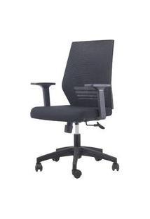 Cadeira Office Celles Preta Base Rozidio 95Cm - 62963 Preto