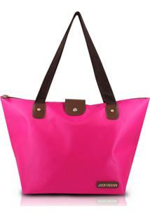 Bolsa Dobrável Lisa Jacki Design Abc14097 Pink