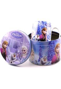 Caneca Minas De Presentes Frozen Lilás