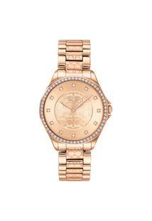 Relógio Coach Feminino Aço Rosé - 14503505