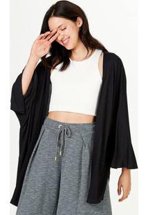 Blusa Kimono Feminina Com Fendas