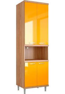 Módulo Para Forno 5117 Sicília - Multimóveis - Argila Acetinado / Amarelo Gema