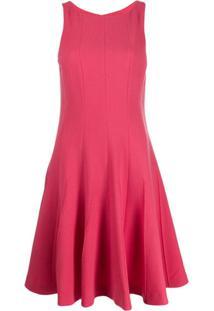 Emporio Armani Vestido Casual Sem Mangas - Rosa