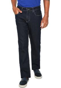 Calça Jeans Calvin Klein Jeans Slim Relaxed Azul