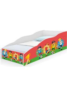 Cama Infantil Play Jogo Futebol Com Colchã£O Casah - Multicolorido - Menino - Dafiti