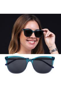 Óculos De Sol Feminino Acetato Lente Polarizada Isabela Dias