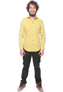 Camisa Chemissima Mostarda