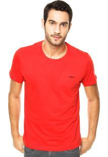 Camiseta Colcci Bordado Laranja