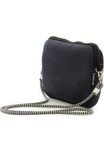 Bolsa Tropea Bag Transversal Azul Marinho - Azul Marinho - Feminino - Dafiti