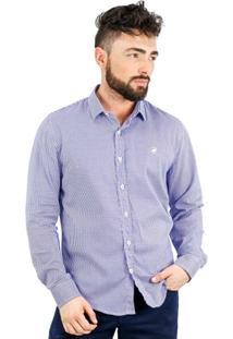 Camisa Norfolk Pied De Poule - Masculino