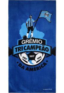 Toalha De Banho Bouton Grêmio Tri Campeão
