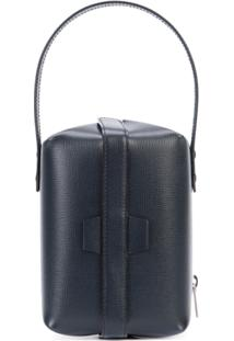 Valextra Tric Trac Vanity Case - Preto