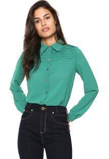 Camisa Lança Perfume Detalhe Verde