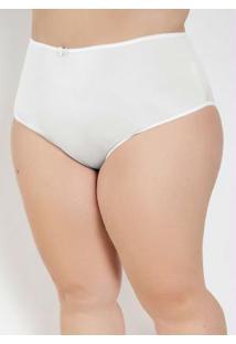 Caleçon Plus Size Branco